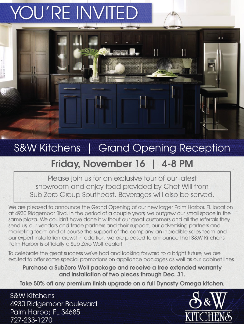 Kitchen Dreams Remodeling Blog | grand opening