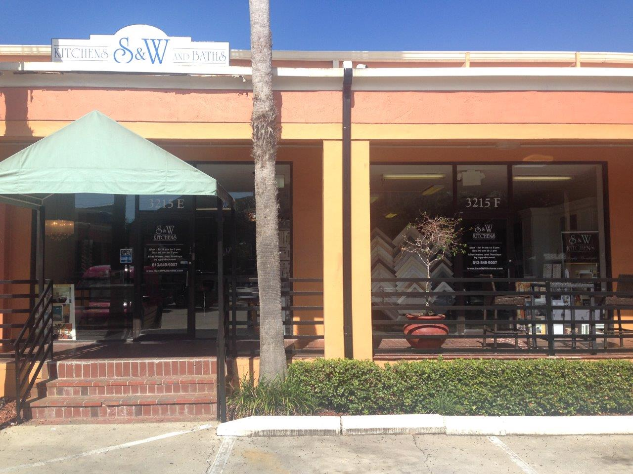 South Tampa S&W Kitchens storefront